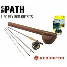 Equipo Completo Redington Path combo para trucha barbo bass y lucio