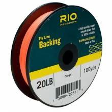 Backing RIO 20 LB. 100YD. NARANJA