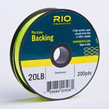 Backing RIO 20LB 200YD CHARTREUSE