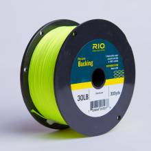 Backing RIO 30LB 300YD. CHARTREUSE
